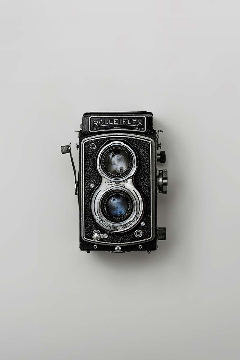 Stary aparat Rolleiflex - symbol pasjonatów fotografii