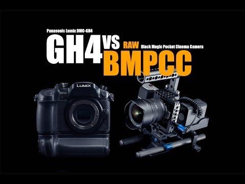W internecie jest bardzo dużo porównań lustrzanek do Panasonica GH4 albo kamery Black Magic. Natomiast ktoś odważył się porównać te dwie kamery bezpośrednio. Tak jak w przypadku porównań lustrzanek do tych aparatów, w wielu przypadkach różnice widać wyraźnie. W przypadku porównania GH4 do Black Magic, to przyznam szczerze, różnice nie są tak klarowne.