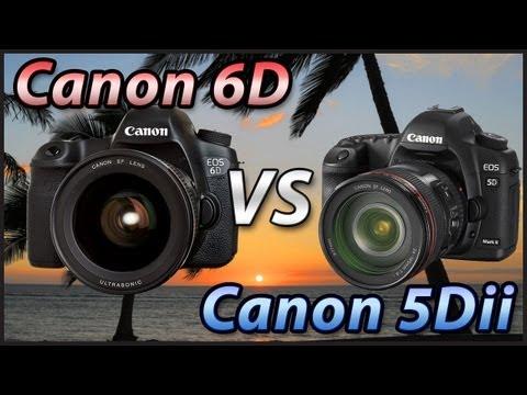 Canon 6D vs 5DII – Czy warto dopłacać do 6D  i dlaczego?