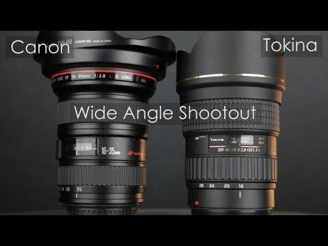 Canon 16-35mm II vs Tokina 16-28mm – porównanie obiektywów