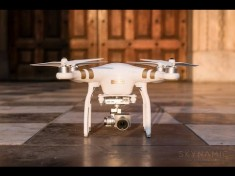 Pierwsze testy najnowszego drona firmy DJI model Phantom 3