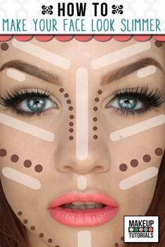 Konturowanie twarzy – schemat rozkładania światła i cienia na twarzy modelki – Ateli ...