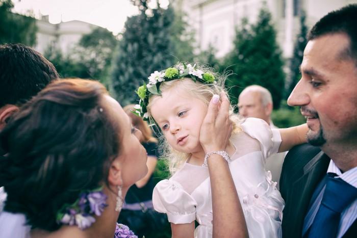 Zdjęcie z pięknej ceremonii zaślubin w Bydgoszczy