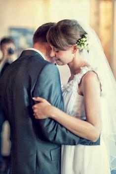 Fotografia ślubna z wesela Justyny i Marka, które odbyło się w jednej z restauracji w Bydgoszczy ...
