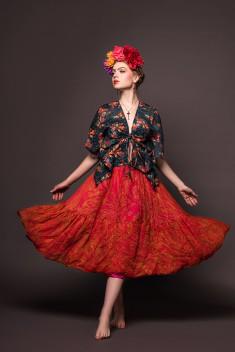 """Sesja zdjęciowa modelki Darii wykonana na konkurs pod tytułem """"Frida"""". Stylizację i  ..."""