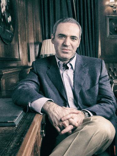 Garri Kasparow, jeden z największych szachistów wszech czasów.